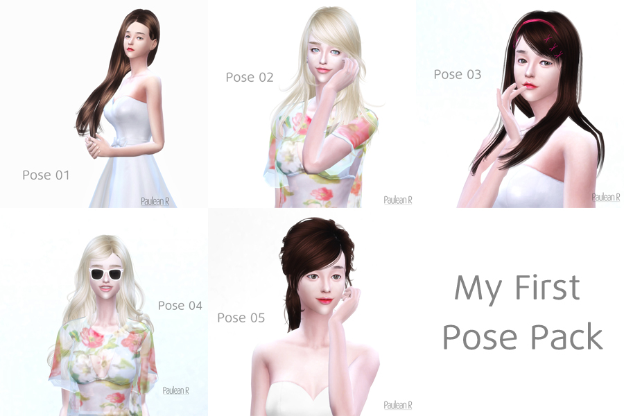 PauleanR_My_First_Pose_Pack